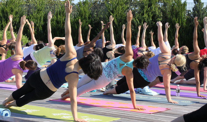 Communal Yoga Mats Carry Risk