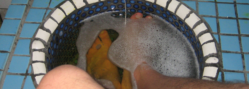 Relax with a Foot Soak