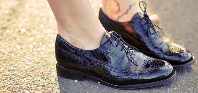 Lace-up Shoes are Best