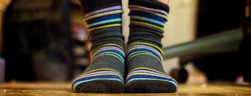 Wearing Extra Socks Can be Problematic