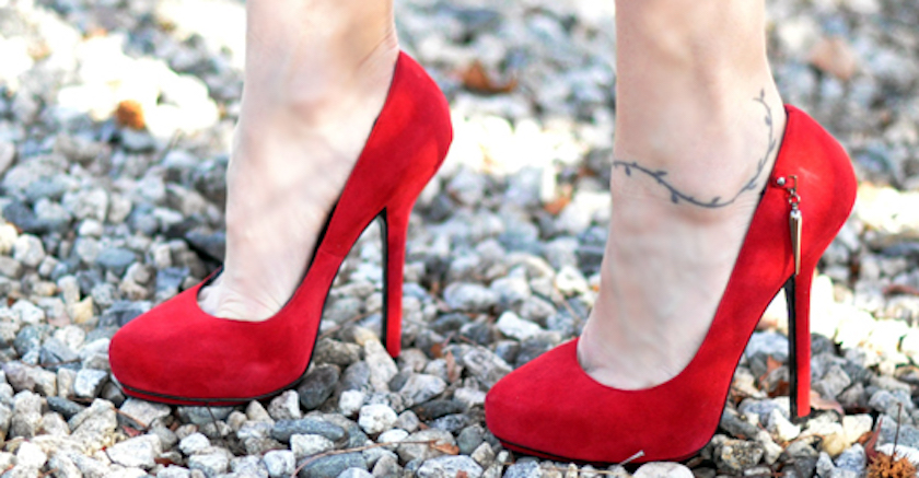 High Heels Can Lead to Morton's Neuroma