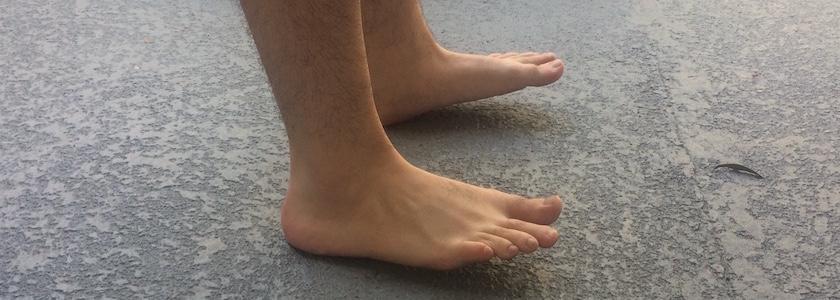 Heel Walking to Improve Balance