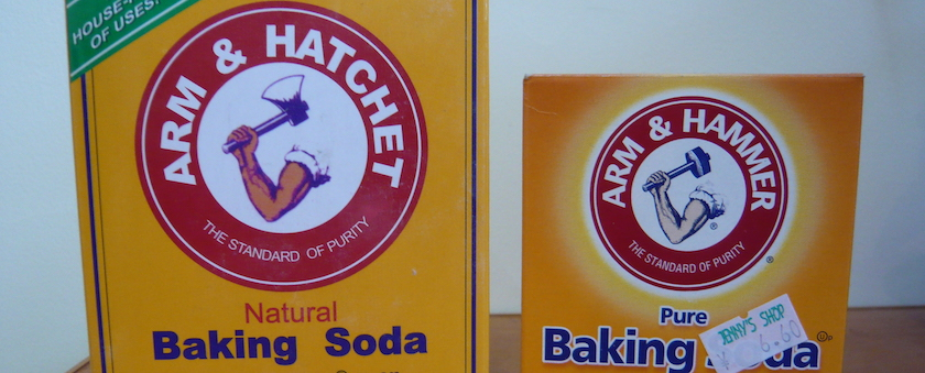 Baking Soda in Your Shoes
